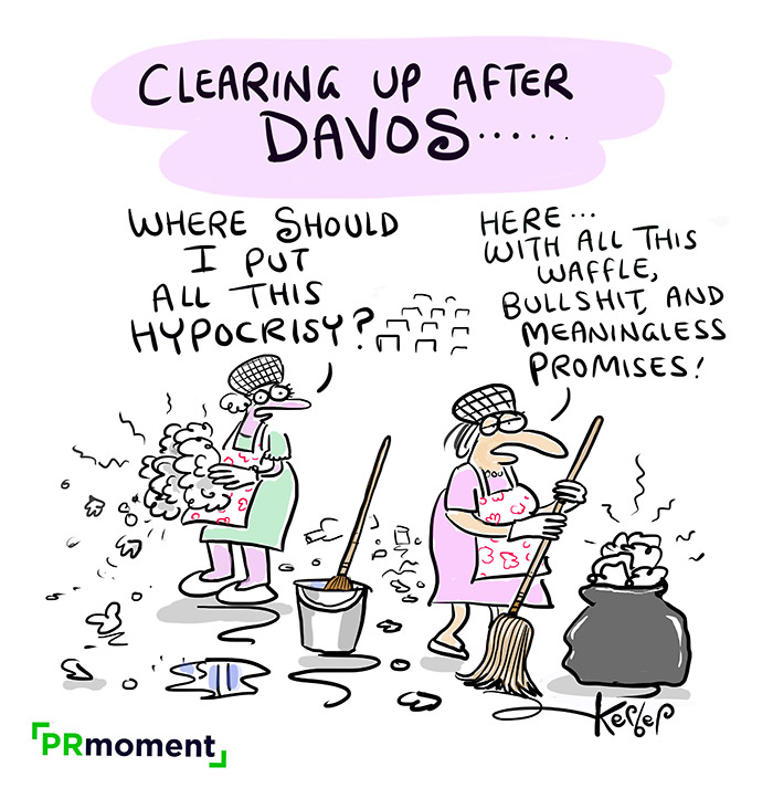 Clearing Up After Davos